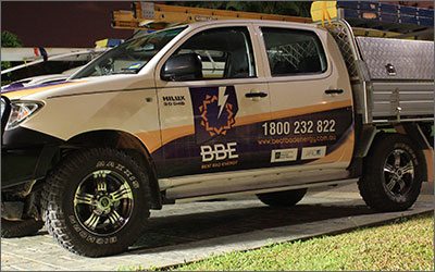 Vehicle Signs. LJMDesign Provides Quality Printing, Signs and Websites. Cairns and Townsville North Queensland.